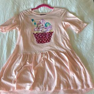 Cute cupcake T-shirt dress